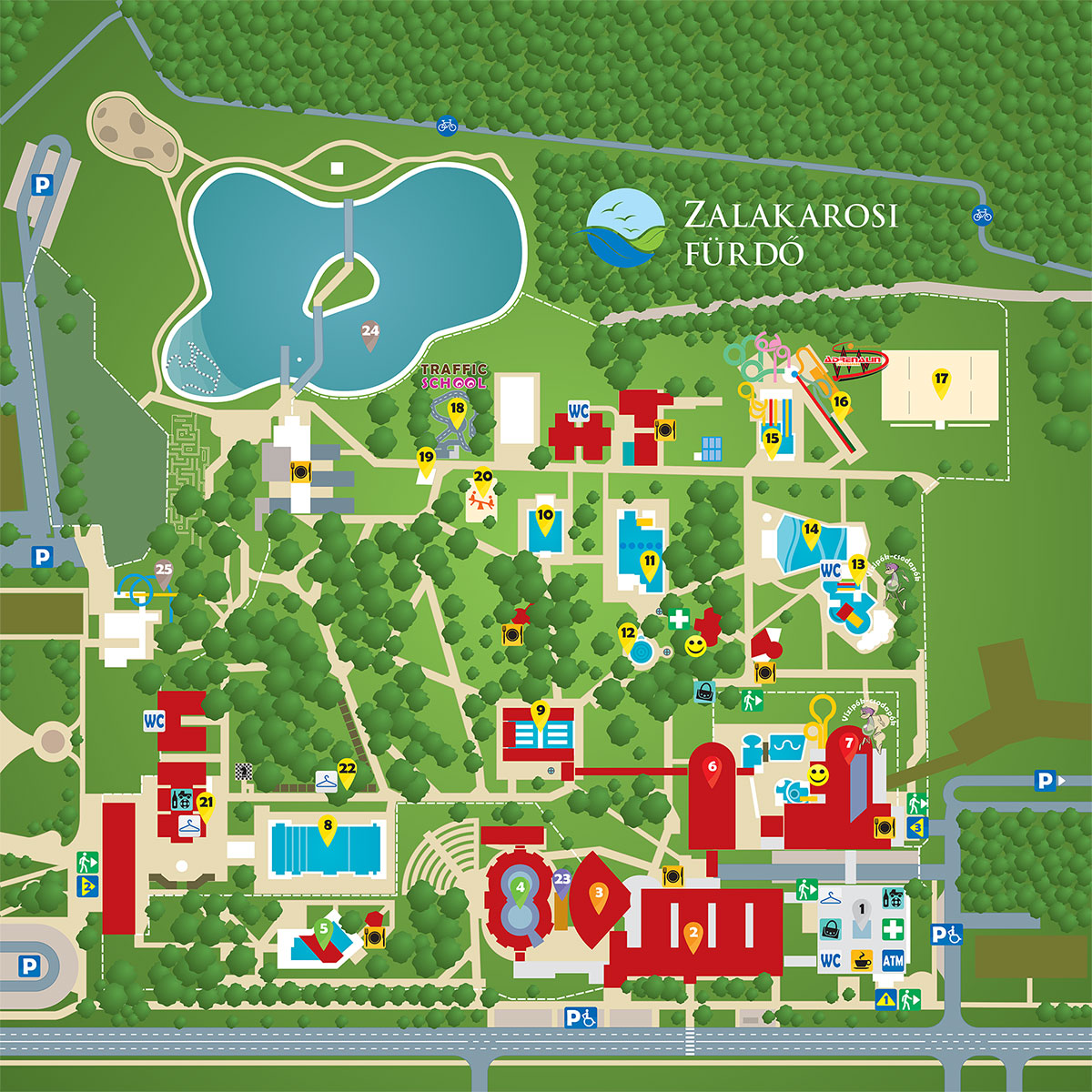 zalakaros fürdő térkép Katalog zájezdů   madarsko.com